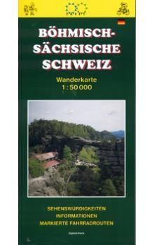 Ivo Novák: Böhmisch - Sächsische schweiz 1:50 000 cena od 54 Kč