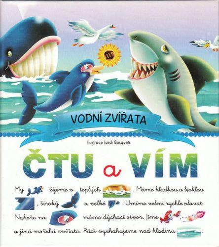 Jordi Busquets: Čtu a vím - Vodní zvířata cena od 66 Kč