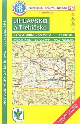 Cabalka Zdeněk KČTC 21 Jihlavsko-Třebíčsko cena od 97 Kč