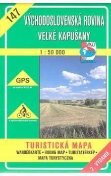VKÚ Východoslovenská rovina Veľké Kapušany 1:50 000 cena od 75 Kč