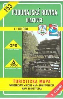 VKÚ Poddunajská rovina Diakovce 1:50 000 cena od 77 Kč