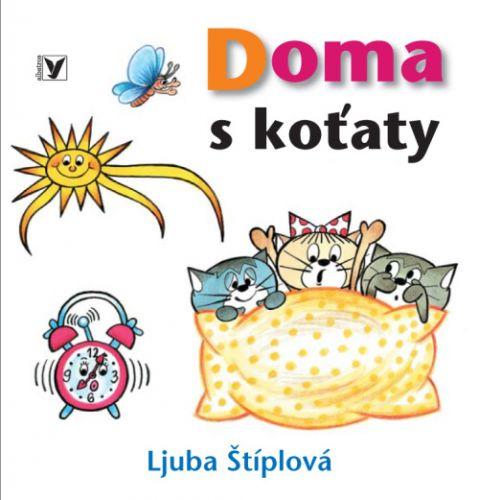 Ljuba Štíplová: Doma s koťaty cena od 54 Kč