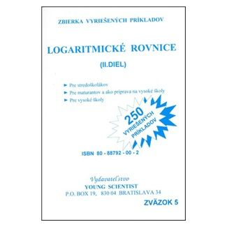 Young Scientist Logaritmické rovnice cena od 42 Kč