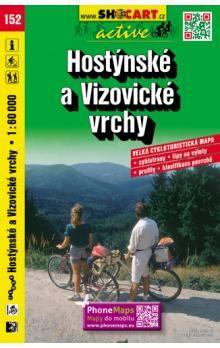Hostýnskké a Vizovické vrchy 1:60 000 cena od 80 Kč
