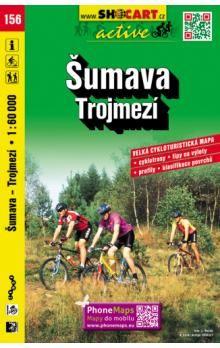 Šumava Trojmezí 1:60 000 cena od 83 Kč