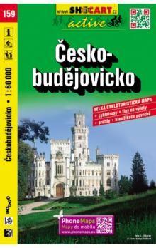 Českobudějovicko 1:60 000 cena od 96 Kč