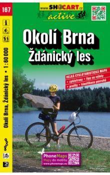 Okolí Brna Ždánický les 1:60 000 cena od 49 Kč