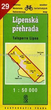Kartografie PRAHA TM 29 Lipenská přehrada cena od 12 Kč