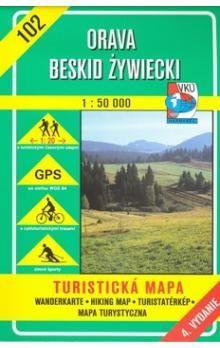 VKÚ Orava Beskid Zywiecki 1:50 000 cena od 77 Kč