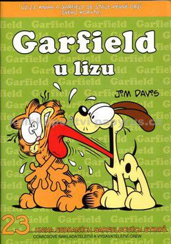 Jim Davis: Garfield u lizu cena od 93 Kč