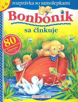 Jean Mouthier: Bonbónik sa člnkuje - rozprávka so samolepkami cena od 72 Kč