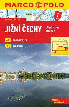 Marco Polo Jižní Čechy Jindřichův Hradec 1:100 000 cena od 59 Kč