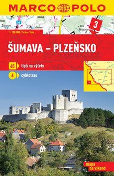 Šumava Plzeňsko 1:100 000 cena od 35 Kč