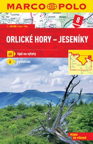 Orlické hory Jeseníky 1:100 000 cena od 169 Kč
