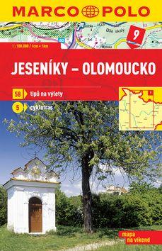 Jeseníky Olomoucko 1:100 000 cena od 49 Kč