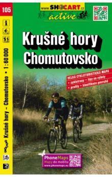 Krušné hory Chomutovsko 1:60 000 cena od 82 Kč