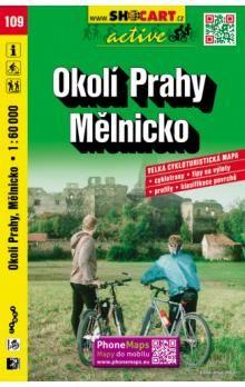 Okolí Prahy Mělnicko 1:60 000 cena od 90 Kč
