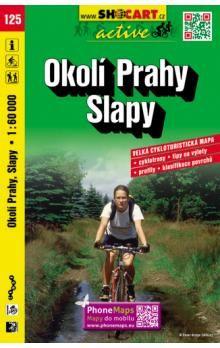 Okolí Prahy Slapy 1:60 000 cena od 78 Kč