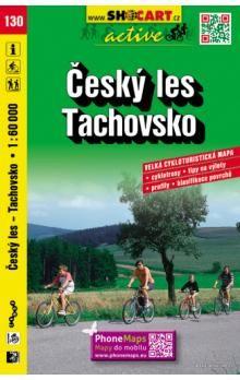Český les Tachovsko 1:60 000 cena od 80 Kč