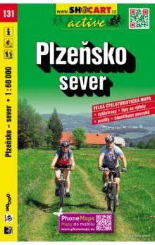 Plzeňsko sever 1:60 000 cena od 88 Kč