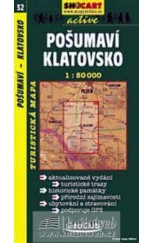 Pošumaví Klatovsko 1:60 000 cena od 80 Kč