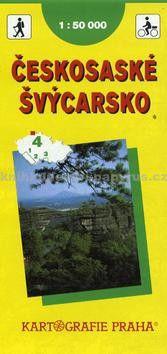 Kartografie PRAHA TM 4 Českosaské Švýcarsko cena od 42 Kč
