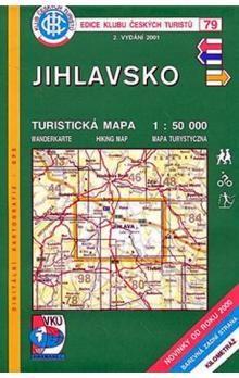 Kolektiv: Jihlavsko - Turistická mapa - edice Klub českých turistů 79 cena od 64 Kč