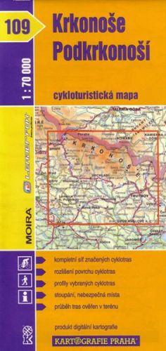 Kartografie PRAHA Krkonoše, Podkrkonoší 1:70 000 cena od 17 Kč