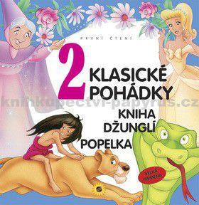 2 Klasické pohádky Kniha džunglí a Popelka cena od 95 Kč