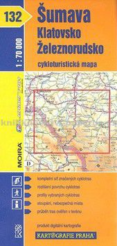 Kartografie PRAHA Šumava - Klatovsko, Železnorudsko cena od 66 Kč