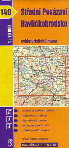 Kartografie PRAHA Střední Posázaví, Havlíčkobrodsko cena od 18 Kč