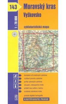 Kartografie PRAHA Moravský kras, Vyškovsko cena od 14 Kč