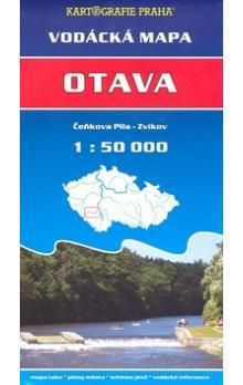 Otava, Čeňkova pila - Zvíkov 1: 50 000 cena od 37 Kč