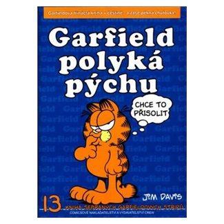 Jim Davis: Garfield polyká pýchu - 13. kniha sebraných Garfieldových stripů cena od 65 Kč