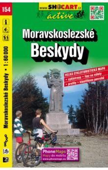 Moravskoslezské Beskydy 1:60 000 cena od 90 Kč