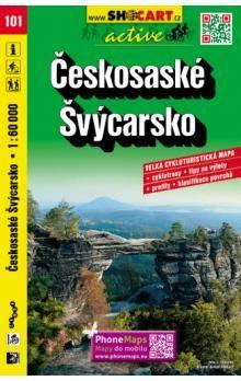 Českosaské Švýcarsko 1:60 000 cena od 102 Kč