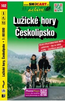 Lužické hory Českolipsko 1:60 000 cena od 90 Kč
