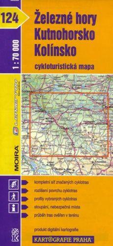 Kartografie PRAHA Železné hory, Kutnohorsko, Kolínsko cena od 64 Kč