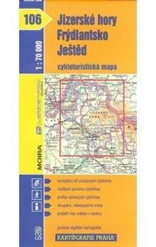 Kartografie PRAHA Jizerské hory, Frýdlantsko, Ještěd cena od 66 Kč
