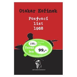 Otakar Kořínek: Pozývací list 1968 cena od 63 Kč