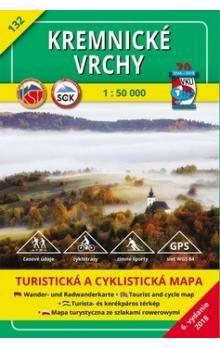 VKÚ Kremnické vrchy 1:50 000 cena od 111 Kč