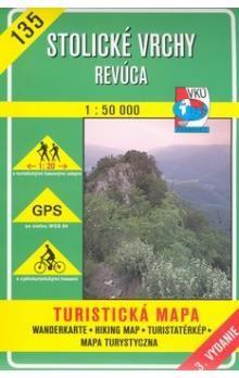 VKÚ Stolické vrchy Revúca 1:50 000 cena od 71 Kč
