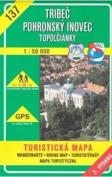 VKÚ Tribeč Pohronský Inovec 1:50 000 cena od 77 Kč
