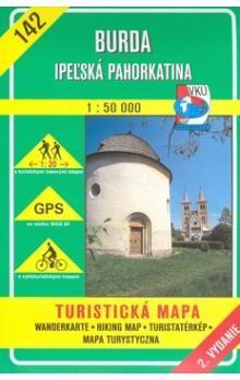 VKÚ Burda Ipeľská pahorkatina 1:50 000 cena od 75 Kč