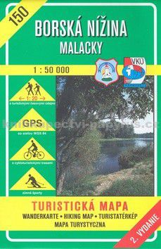 VKÚ Borská nížina Malacky 1:50 000 cena od 73 Kč
