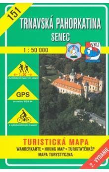 VKÚ Trnavská pahorkatina Senec 1:50 000 cena od 75 Kč
