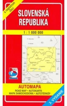 VKÚ Slovenská republika 1:1 000 000 cena od 33 Kč