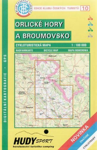 Cabalka Zdeněk KČTC 10 Orlické hory a Broumovsko cena od 20 Kč