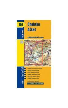 Kartografie PRAHA Chebsko, Ašsko cena od 18 Kč