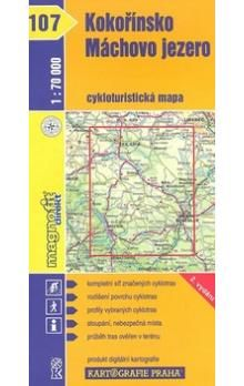 Kartografie PRAHA Kokořínsko, Máchovo jezero cena od 75 Kč